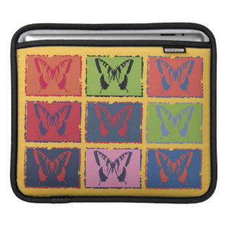Vintage Colorful Butterfly Fine Art iPad Sleeves