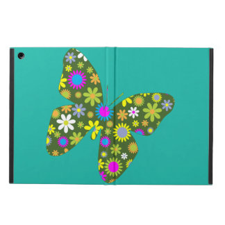 Vintage colorful butterfly iPad air covers