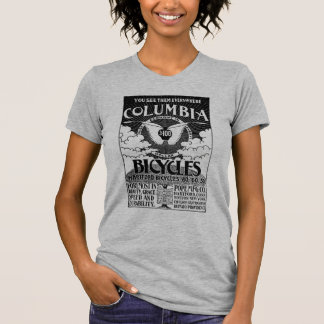 Vintage Columbia Bicycles Advertisement Shirt