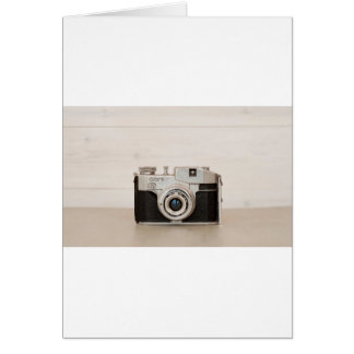 Vintage Comet camera Card