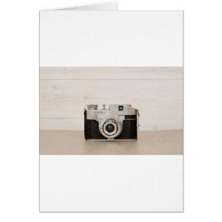 Vintage Comet camera Greeting Card