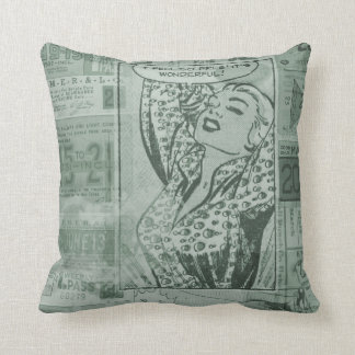 Vintage Comic Pillow