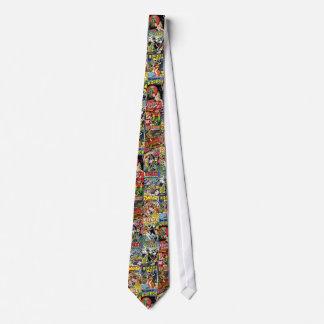 Vintage Comic Print Tie