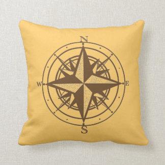 Vintage Compass Cushion