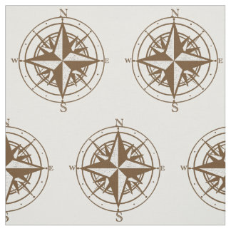 Vintage Compass Fabric