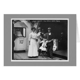 Vintage Coney Island, Brooklyn Greeting Card
