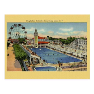 Vintage Coney Island New York Postcard