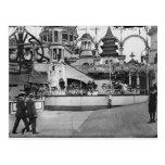 Vintage Coney Island Photograph Postcards