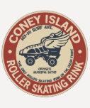 Vintage Coney Island Roller Rink Tshirts