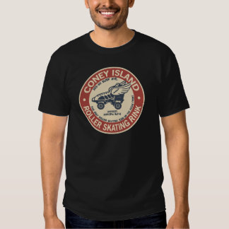Vintage Coney Island Roller Staking Rink T-shirts