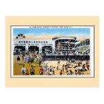Vintage Coney Island steeplechase boardwalk beach Post Card