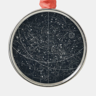 Vintage Constellation Map Christmas Ornament
