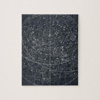 Vintage Constellation Map Puzzle