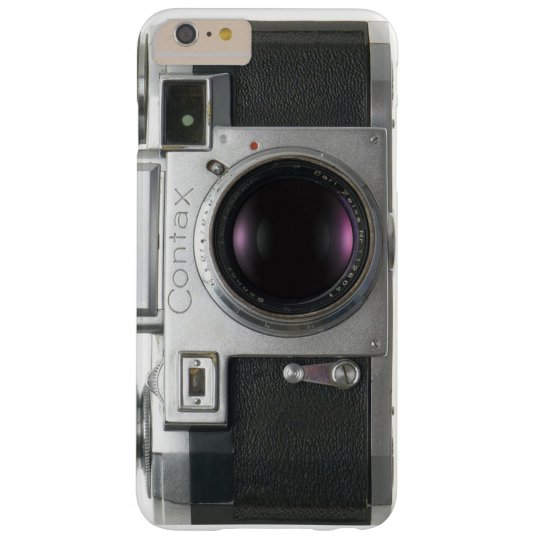 Vintage Contax Camera Barely There iPhone 6 Plus