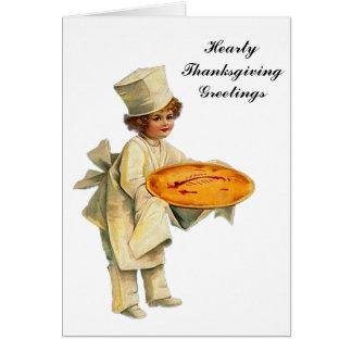 Vintage Cook Card