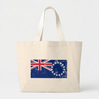 Vintage Cook Islands Jumbo Tote Bag