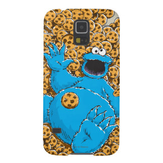 Vintage Cookie Monster and Cookies Galaxy S5 Case