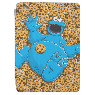 Vintage Cookie Monster and Cookies iPad Air Cover
