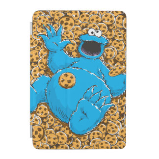 Vintage Cookie Monster and Cookies iPad Mini Cover