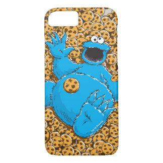 Vintage Cookie Monster and Cookies iPhone 8/7 Case