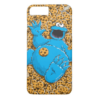 Vintage Cookie Monster and Cookies iPhone 8 Plus/7 Plus Case