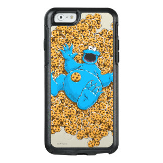 Vintage Cookie Monster and Cookies OtterBox iPhone 6/6s Case