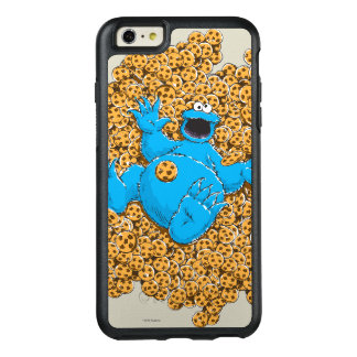 Vintage Cookie Monster and Cookies OtterBox iPhone 6/6s Plus Case