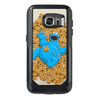 Vintage Cookie Monster and Cookies OtterBox Samsung Galaxy S7 Case