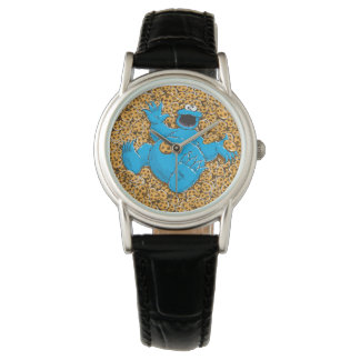 Vintage Cookie Monster and Cookies Wristwatches