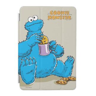 Vintage Cookie Monster Eating Cookies iPad Mini Cover