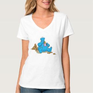 Vintage Cookie Monster Eating Cookies Tshirts
