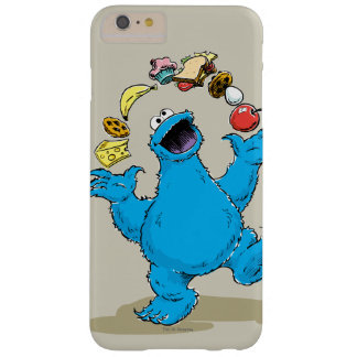 Vintage Cookie Monster Juggling Barely There iPhone 6 Plus Case