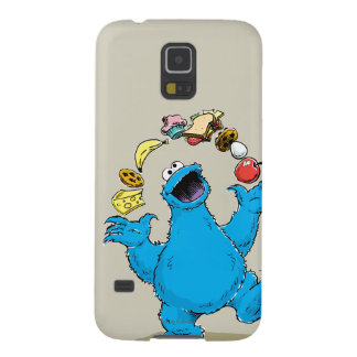 Vintage Cookie Monster Juggling Galaxy S5 Cover