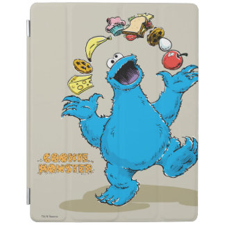 Vintage Cookie Monster Juggling iPad Cover