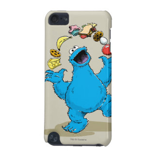 Vintage Cookie Monster Juggling iPod Touch (5th Generation) Cases