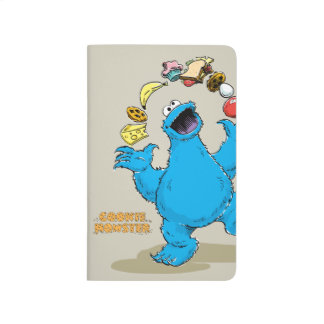 Vintage Cookie Monster Juggling Journal