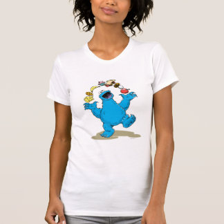 Vintage Cookie Monster Juggling T-Shirt