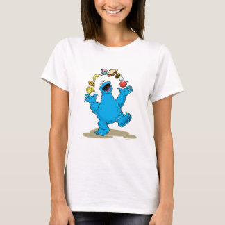 Vintage Cookie Monster Juggling T-Shirt