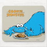 Vintage Cookie Monster Plate of Cookies Mouse Pad