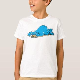 Vintage Cookie Monster Plate of Cookies T-Shirt