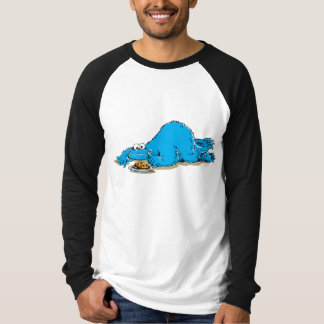 Vintage Cookie Monster Plate of Cookies T-Shirt