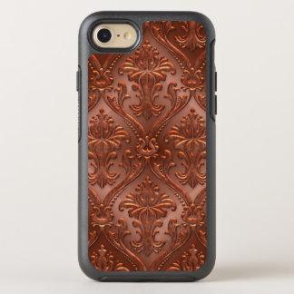 Vintage Copper Tin Tiles Steampunk Antique OtterBox Symmetry iPhone 8/7 Case