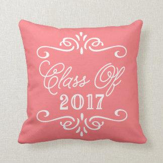 Vintage Coral | Graduation Cushion