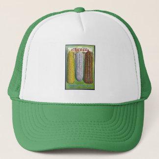Vintage Corn Seed Packet Truckers Hat
