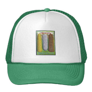 Vintage Corn Seed Packet Truckers Hat