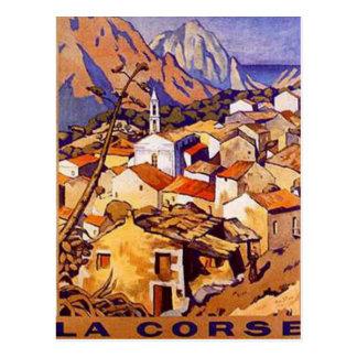 Vintage Corsica France - Postcard