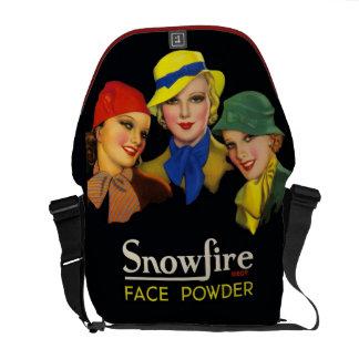 Vintage Cosmetics Retro Fashion Models Commuter Bag