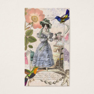 Vintage Costume Designer / Vintage Clothing Shop Business Card