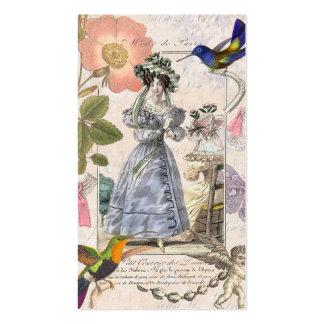 Vintage Costume Designer / Vintage Clothing Shop Pack Of Standard Business Cards