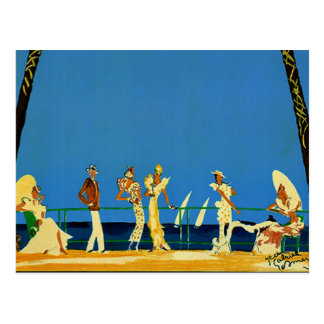 Vintage Cote D Azur French Travel Post Cards